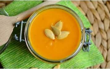 Soupe de courges & carottes