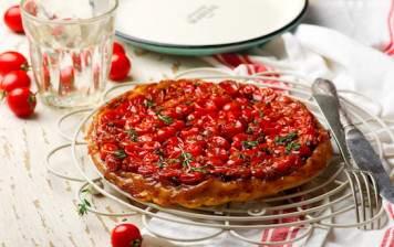 Cherry Tomatoes Tart