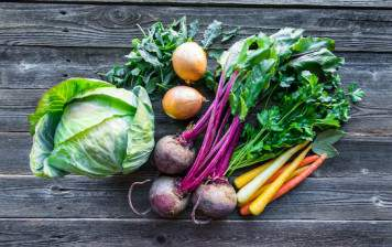 Local or organic vegetables