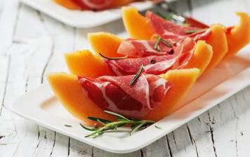 Melon charentais and...