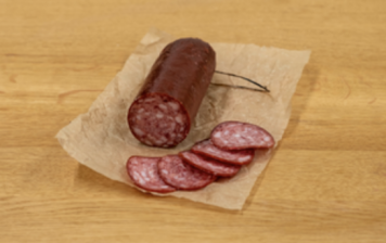 Dry sausage from Emmental -...