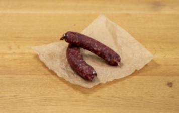 Smoked dry sausage from...