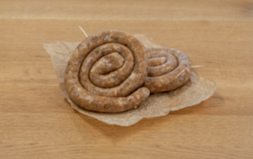"""""""Duroc"""" spicy snail sausage"""