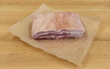 """""""Duroc"""" pork belly"""