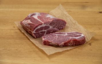 """""""Duroc"""" pork neck fillet steak"""