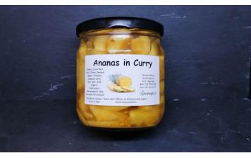 Ananas au curry