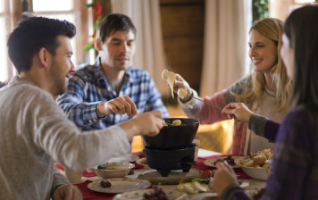 Pack cheese fondue for 2...