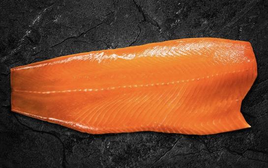 """Helvetic Salmon"" - filet avec peau"