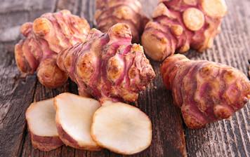 organic Jerusalem artichoke