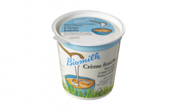 Organic fresh cream 35%
