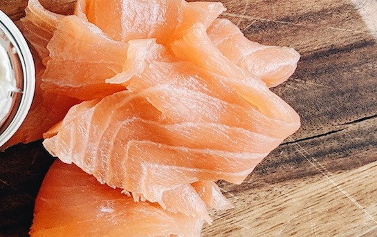 """""""Helvetic Salmon"""" - smoked and sliced"""