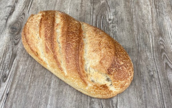 Half and half bread