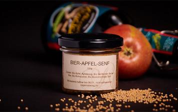 Bier-Apfel-Senf