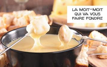 Fondue from your cheese...