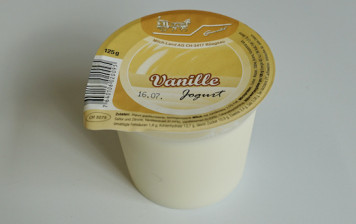 yogourt vanille
