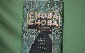 Pur chocolat noir Suisse 71% et noix de coco
