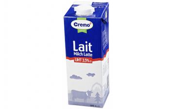 Whole milk UHT Cremo