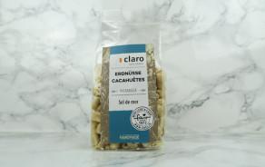 Roasted peanuts with sea salt