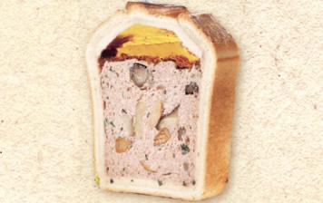 Venison pâté with mushrooms